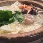 酒粕風味の特製味噌ダレで作るポカポカ鍋のレシピ