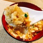 親子丼より美味しい「牛もつ卵とじ丼」の人気レシピと作り方!