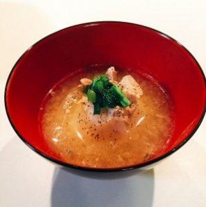 新玉ねぎの塩糀スープ